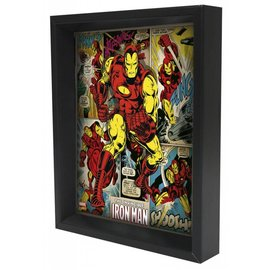 Pyramid America Shadowbox - Iron Man – Panels
