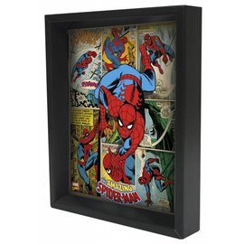 Pyramid America Shadowbox - Spider-Man – Panels