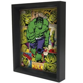 Pyramid America Shadowbox - Hulk – Panels
