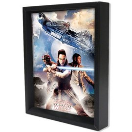 Pyramid America Shadowbox - Star Wars – TLJ – Trio