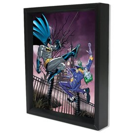 Pyramid America Shadowbox - Batman – Joker vs Batman