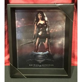 Pyramid America Shadowbox - Batman v Super – DOJ – Wonder Woman