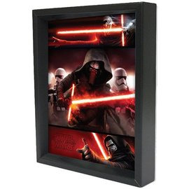 Pyramid America Shadowbox – Star Wars - Kylo Ren Panels