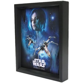 Pyramid America Shadowbox – Star Wars Rogue One – Jyn Space