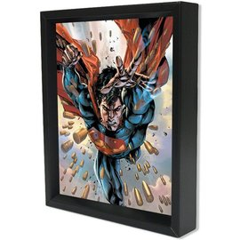 Pyramid America Shadowbox - Superman Bullets