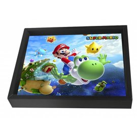 Pyramid America Shadowbox - Super Mario - Galaxy