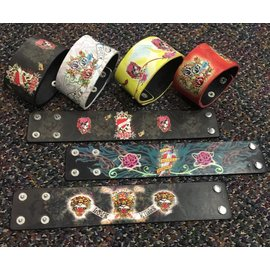 China Bracelet - Ed Hardy Style (assorted colors)