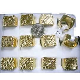 China Ring, Gold Nugget  (Assorted Sizes)