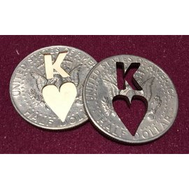 USED Card Coin Set - KH