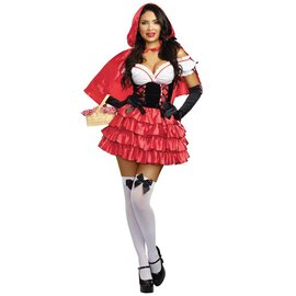 Dreamgirl International Red Riding Hood, Med 6-10 by Dreamgirl
