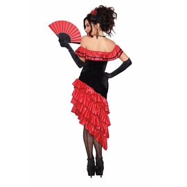 Dreamgirl International Spanish Dancer, LG 10-14  by Dreamgirl