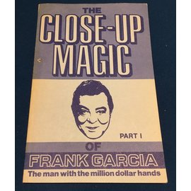 Frank Garcia USED The Close-Up Magic of Frank Garcia Part I - Book VG RARE