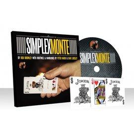 Alakazam Magic UK Simplex Monte, Red by Rob Bromley and Alakazam Magic