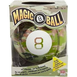 Mattel Magic 8 Ball - Camouflage