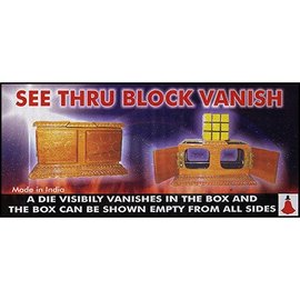 Uday See Thru Block Vanish by Uday - Trick