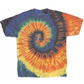 Flashback And Freedom Inc Tie Dye T-Shirt Large