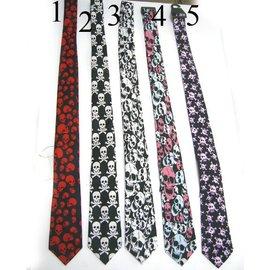 american passion Skull and Crossbones Necktie