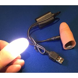 Ronjo Cosmic Rays White Pair, Thumblights - Rechargeable