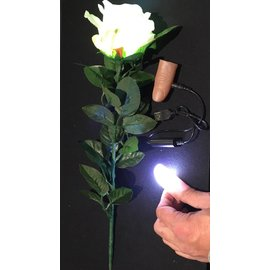 Ronjo Cosmic Rays Thumblights And Flowerlight Set, White Pair - Rechargeable