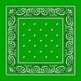 Kelly Green Bandana