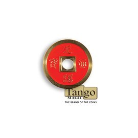 Tango Dollar Size Chinese Coin (Red) by Tango (CH032)