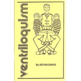 Magic Inc Ventriloquism by Kevin Davie - Book (M7)