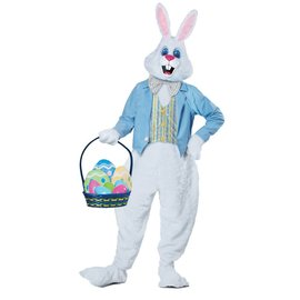 California Costumes Deluxe Easter Bunny, Blue Jacket- Adult Sm/Med