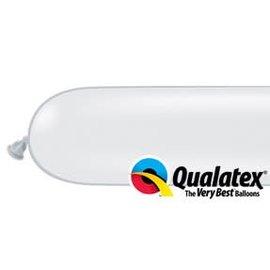 Qualatex 160Q Balloons White - 100 Count