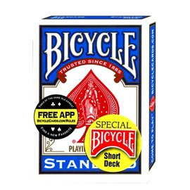 United States Playing Card Company Card - Bicycle Short Deck, Blue (M10)