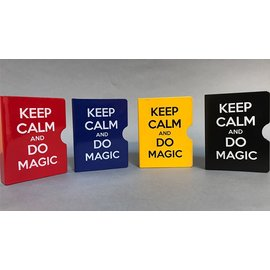 Bazar de Magia Card Guard, Red Keep Calm and Do Magic by Bazar de Magia