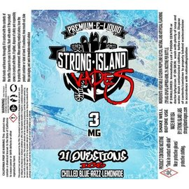 strong island vapes Vapor Liq 21Q ICE 60ml 3mg by Strong Island Vapes