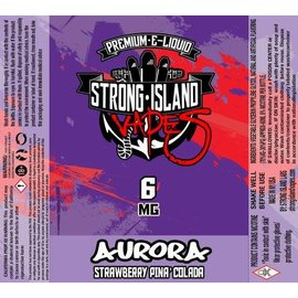 strong island vapes Vapor Liq Aurora 60ml 6mg by Strong Island Vapes