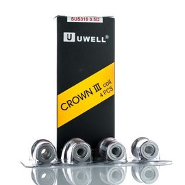 UWell UWell Crown 3 Coil .5ohm 4 per pack