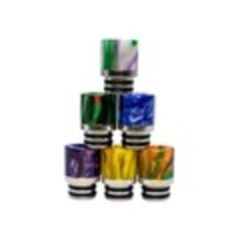 Drip Tip -  Resin w/SS 510 Compatible, Assorted Colors