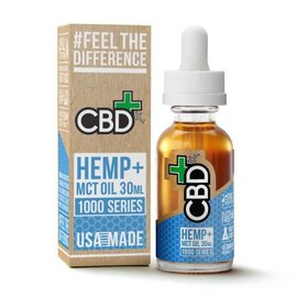 CBDfx CBD Plus MCT Oil 1000mg Tincture By CBDfx