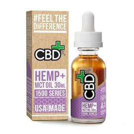 CBDfx CBD Plus MCT Oil 1500mg Tincture By CBDfx