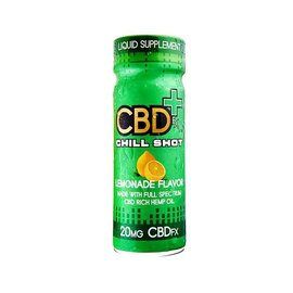 CBDfx CBD Chill Shot – Lemonade Flavor 20mg 2oz 60ml by CBDfx
