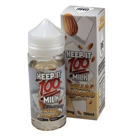 Liquid Labs Milk Nilla Almond 0mg 100ml by Keep It 100