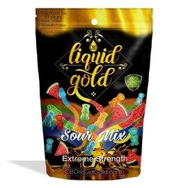 Diamond CBD CBD Sour Mix Gummies 550mg Liquid Gold Diamond