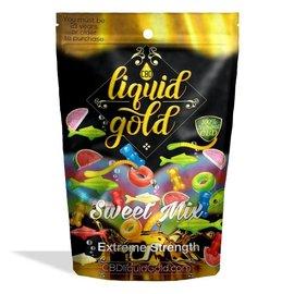 Diamond CBD CBD  Sweet Mix Gummies 550mg Liquid Gold Diamond