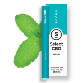 Select CBD CBD Spearmint Vape Pen by Select CBD