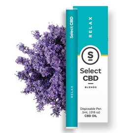 Select CBD CBD Relax Lavender Vape Pen by Select CBD