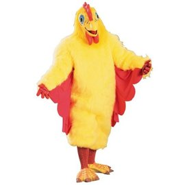 Rubies Costume Company Chickie Chicken Mascot Costume - Adult One Size
