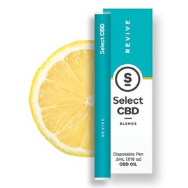 Select CBD CBD Revive Lemon Vape Pen by Select CBD
