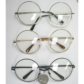 China Sunglasses Large Round Metal Frame - Assorted Colors