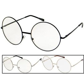 China Sunglasses XXL Round Metal Frame - Assorted Colors