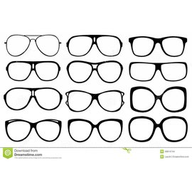 China Sunglasses - Assorted Style Clear Lenses, Quality Each Pair