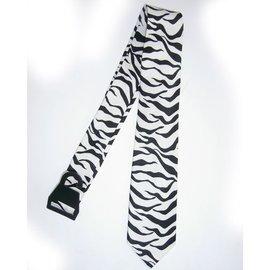 american passion Necktie Zebra Black/White
