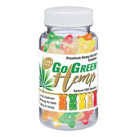 Go Green Hemp CBD 10mg Gummy Bears 200mg by Go Green Hemp