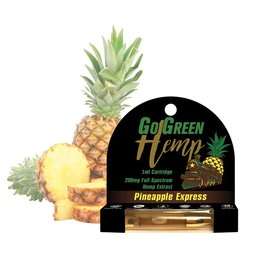 Go Green Hemp CBD Oil Cartridge Pineapple Express 200mg 1ml byGo Green Hemp